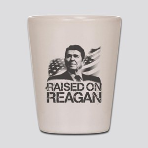 Raised on Reagan Shot Glass