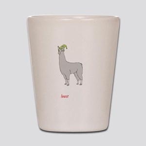 llama2-black Shot Glass
