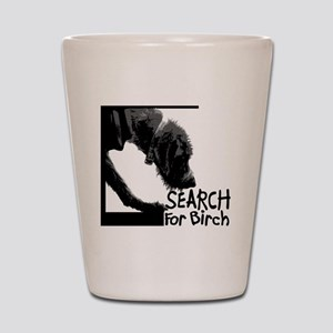 Search birch odor scent nose work Shot Glass