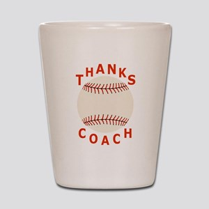 Baseball Coach Thank You Gifts Shot Glass