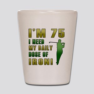 Iron 75 Shot Glass