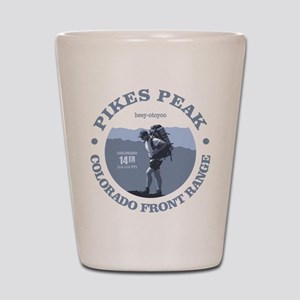 Pikes Peak (rd) Shot Glass