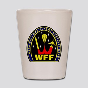 Wallops Flight Facility Shot Glass