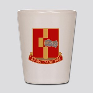 92nd Field Artillery Regiment Military  Shot Glass
