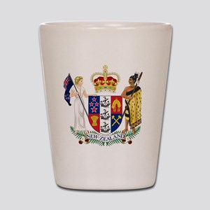 Coat of Arms of New Zealand Shot Glass