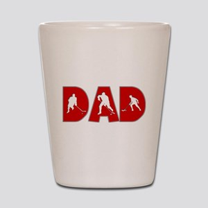 Hockey Dad Shot Glass