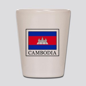 Cambodia Shot Glass