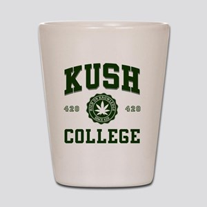 KUSH_COLLEGE_ Shot Glass
