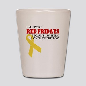 ISupportREdFridays1 Shot Glass