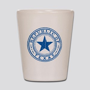 Republic of Texas Old state seal Shot Glass