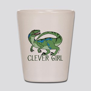 Clever Girl Shot Glass