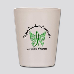 Organ Donation Butterfly 6.1 Shot Glass