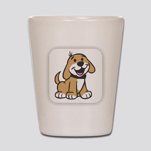 Cute Puppy Shot Glass