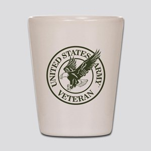 United States Army Veteran Shot Glass