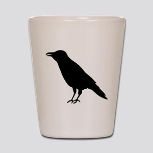 Crow Raven Shot Glass