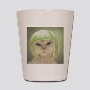 melonheadcat7100 Shot Glass