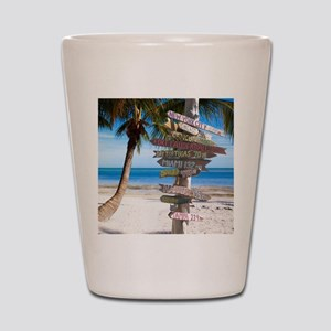 KeyWestSign7100 Shot Glass