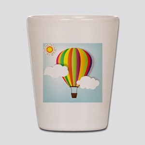 Hot Air Balloon Shot Glass