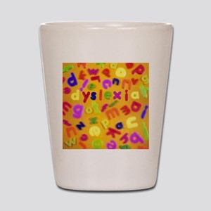 Dyslexia Shot Glass