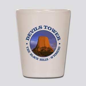 Devils Tower (rd) Shot Glass