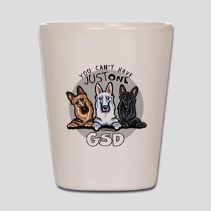 Just One GSD Shot Glass