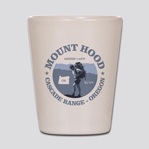Mt Hood Shot Glass
