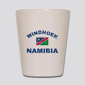 Windhoek Namibia designs Shot Glass