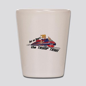 The TRUMP TRAIN | Donald Trump Shot Glass
