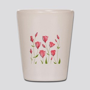 Pretty Flowers Shot Glass