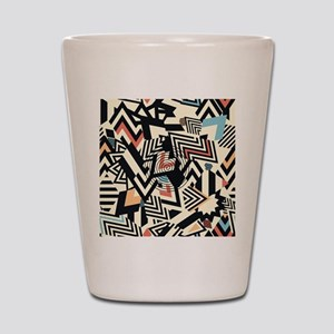 Abstract Pattern Shot Glass