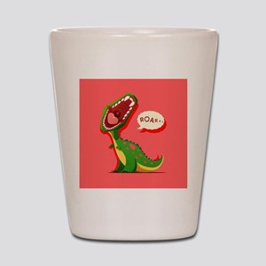 Cute Dinosaur Shot Glass