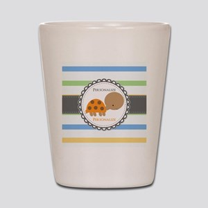 Cute Turtle Personalized Shot Glass