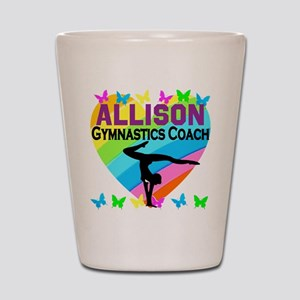 GYMNAST COACH Shot Glass