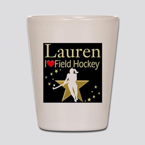 HOCKEY GIRL Shot Glass