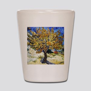 Van Gogh Mulberry Tree Shot Glass