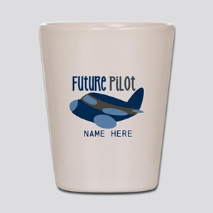 Add Name Future Pilot Shot Glass