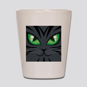 Black Cat Shot Glass