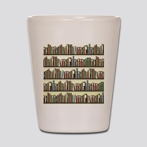 Reading Room Bookshelf Shot Glass