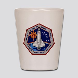 STS-78 Columbia Shot Glass