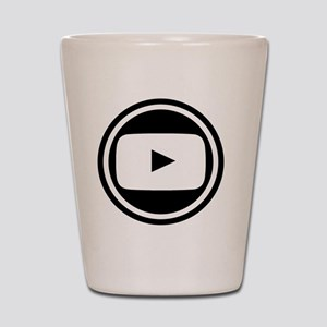 Youtube Shot Glass