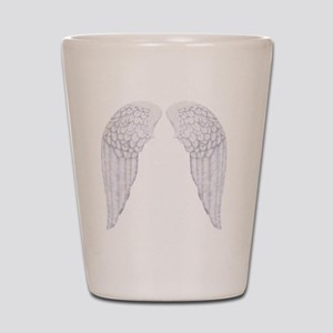 angel wings Shot Glass