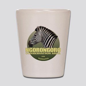 Ngorongoro CA Shot Glass