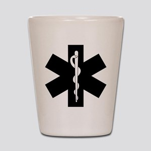 EMS Star of Life Shot Glass