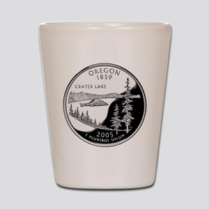 Oregon Quarter Shot Glass