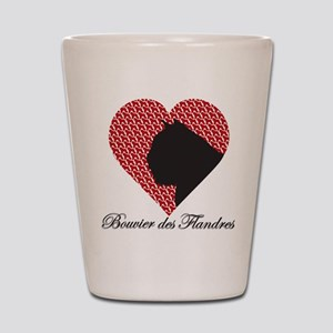 BOUVIER DES FLANDRES Shot Glass