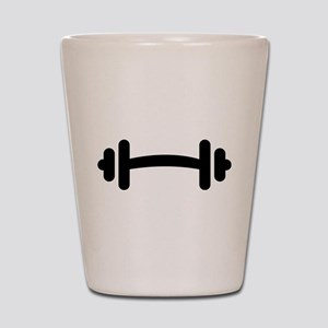 Barbell Dumbbell Shot Glass