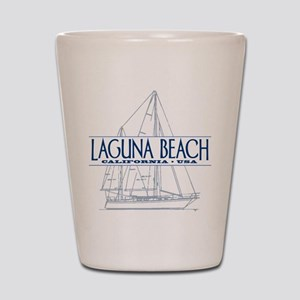 Laguna Beach - Shot Glass