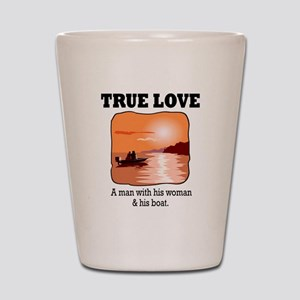 true love Shot Glass