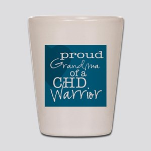 proud grandma copy Shot Glass