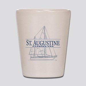 St. Augustine - Shot Glass